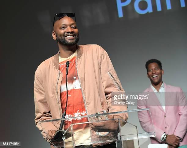 Superstar Storyteller Award winner PatrikIan Polk attends AIDS Healthcare Foundation iNHale Entertainment Partner To Host 'INside | OUTside...