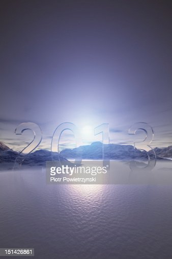 Superstition about the year 2013 : Stock Photo