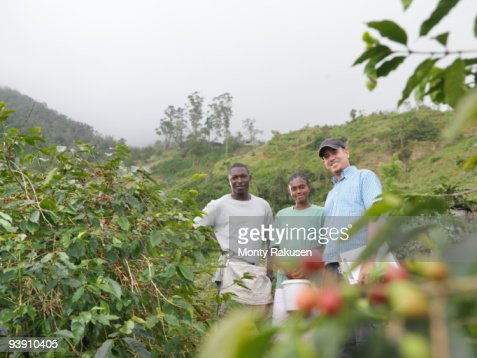 Supervisor And Coffee Workers