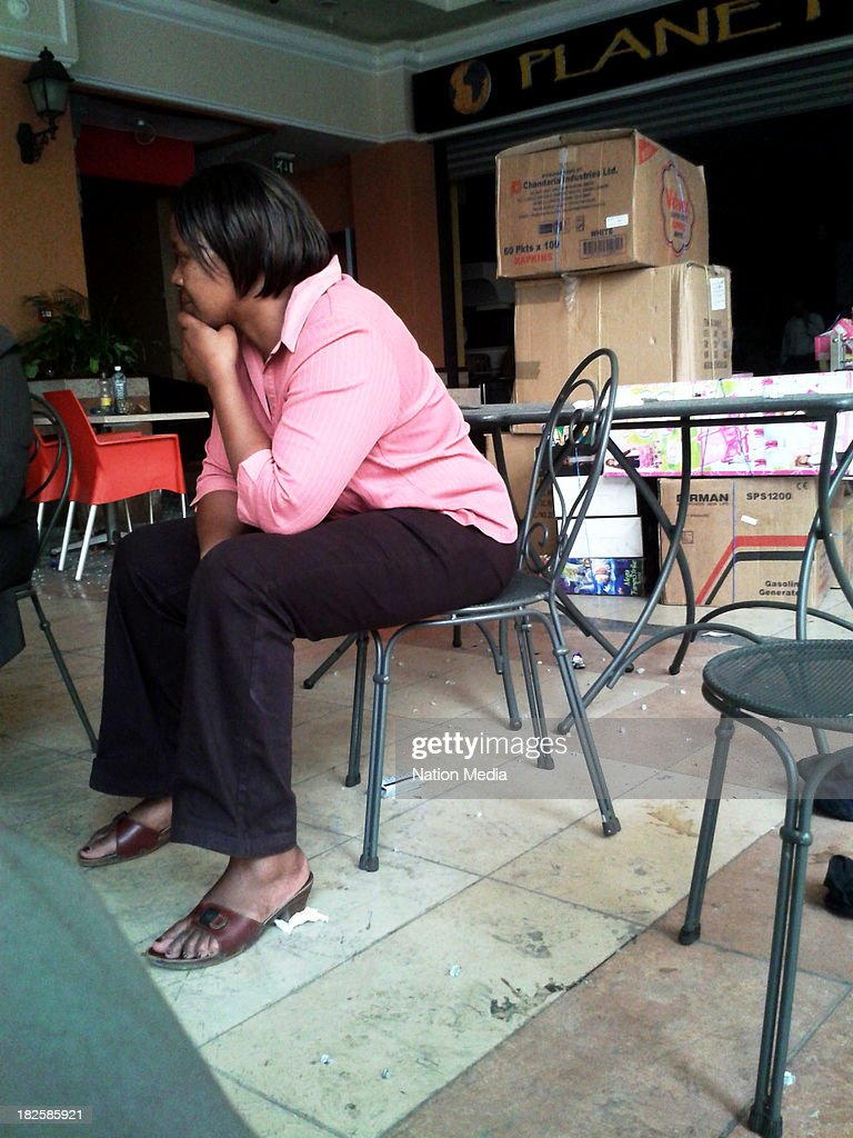 Not for sale to The Star Capital FM The People Citizen TV Kenya Broadcasting Corporation A supplier sits inside a shop at Westgate mall on September...