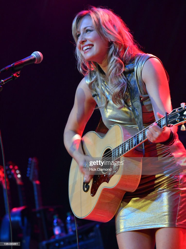 Support Act Joanna Smith performs during Opening Night of Chris Young's Liquid Neon Tour (SOLD OUT) at the Ryman Auditorium on November 15, 2012 in Nashville, Tennessee.