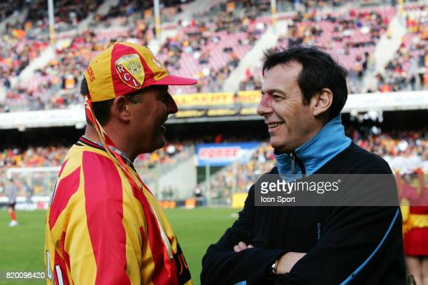Supporter de Lens / Jean Luc REICHMANN Lens / PSG 34eme journee de Ligue 1