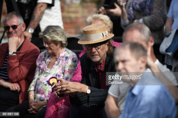 UKIP supporter during a party rally ahead of the general election on June 3 2017 in Ramsgate England All parties continue to push the platforms of...