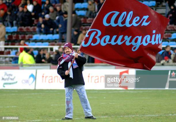 Supporter et porte drapeau de Bourgoin Bourgoin / Leinster Heineken Cup 2005/2006