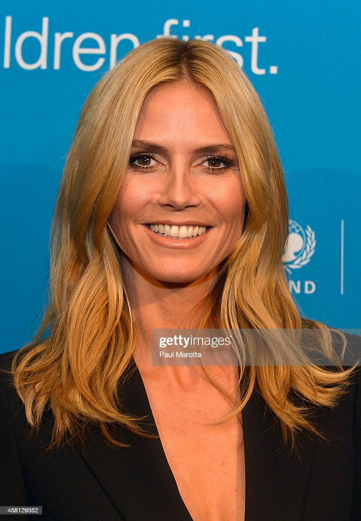 Supporter, Honoree, 2014 Childrens Champion Award <a gi-track='captionPersonalityLinkClicked' href=/galleries/search?phrase=Heidi+Klum&family=editorial&specificpeople=178954 ng-click='$event.stopPropagation()'>Heidi Klum</a> attends the 2014 UNICEF Children's Champion Award Dinner at The Four Seasons Hotel on October 30, 2014 in Boston, Massachusetts.