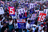 THA: Pheu Thai Party Campaign Election In Bangkok