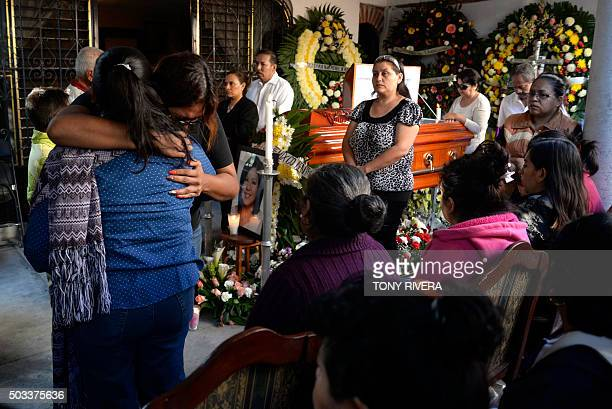 Supporters and family make a guard of honor around the coffin of Gisela Mota newly elected mayor of Temixco Morelos state Mexico murdered on Saturday...