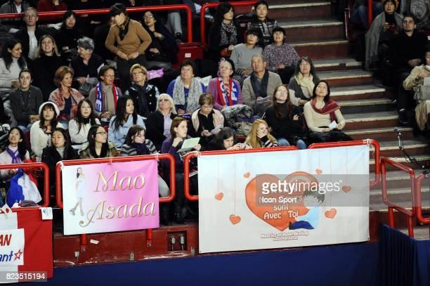 Supporters de Brian JOUBERT et de Mao ASADA Programme Court Trophee Bompard 2010