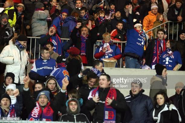 Supporters de Concarneau en colere Concarneau / Lyon Coupe de France Guingamp