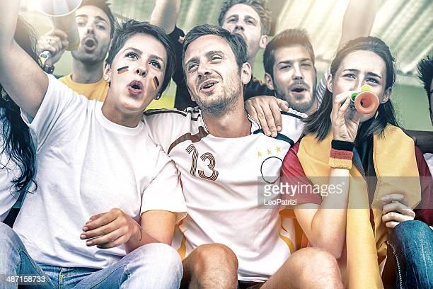 Fan im Stadion