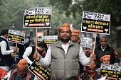 IND: BJP Protest Against Delhi's Chief Minister Arvind Kejriwal At Jantar Mantar