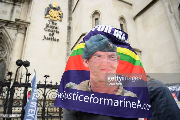 The conviction of a royal marine