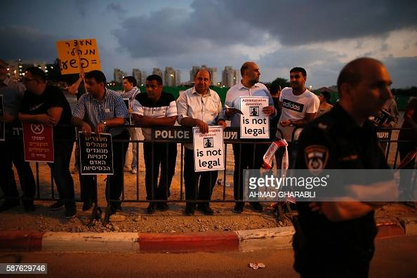 Supporters of Palestinian prisoner Bilal Kayed who has been fasting for 53 days over his detention without trial demonstrate against administrative...