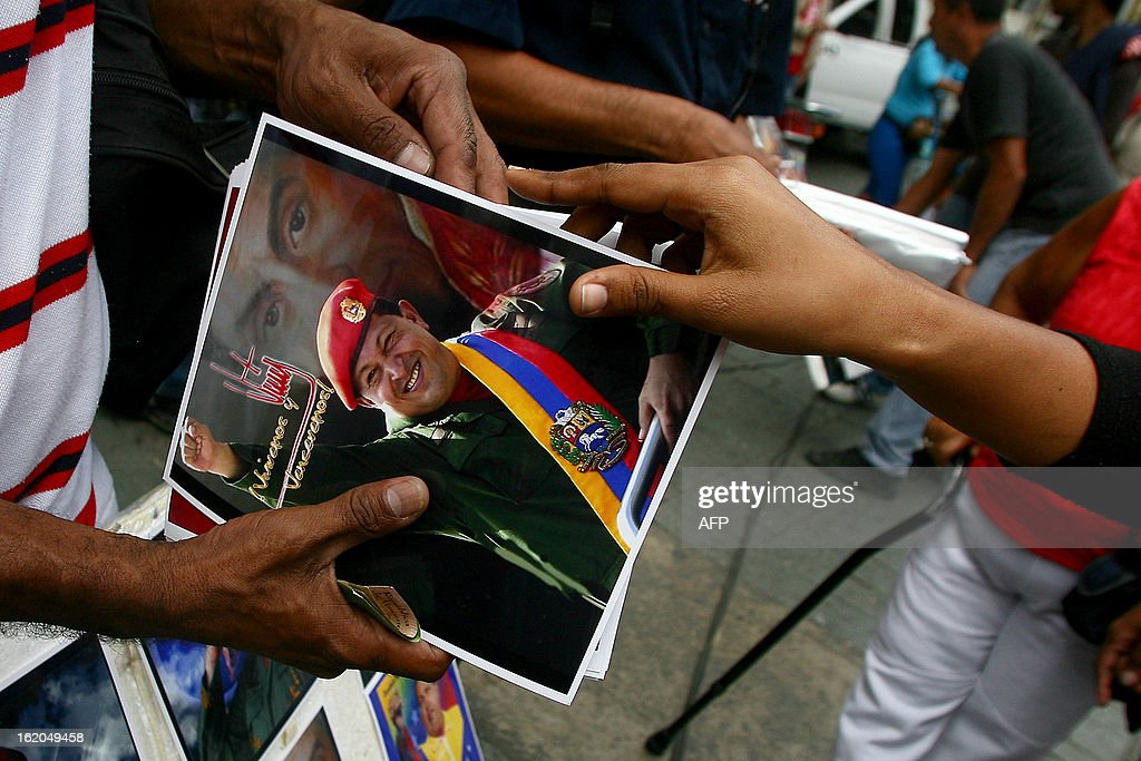 Supporters of Venezuelan President Hugo Chavez gather to celebrate at Simon Bolivar Square in Caracas, following his return from Cuba on February 18, 2013. Chavez returned to Venezuela early on Monday after spending more than two months in Cuba for cancer surgery and treatment, announcing his surprise homecoming via Twitter. 'We have arrived again to the Venezuelan motherland,' Chavez wrote. 'Thank you, God. Thank you, my beloved people. We will continue my treatment here.'