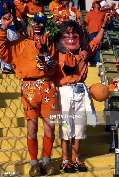 Supporters Pays Bas Pays Bas / CEI Euro 1992 Photo Alain Gadoffre / Icon Sport