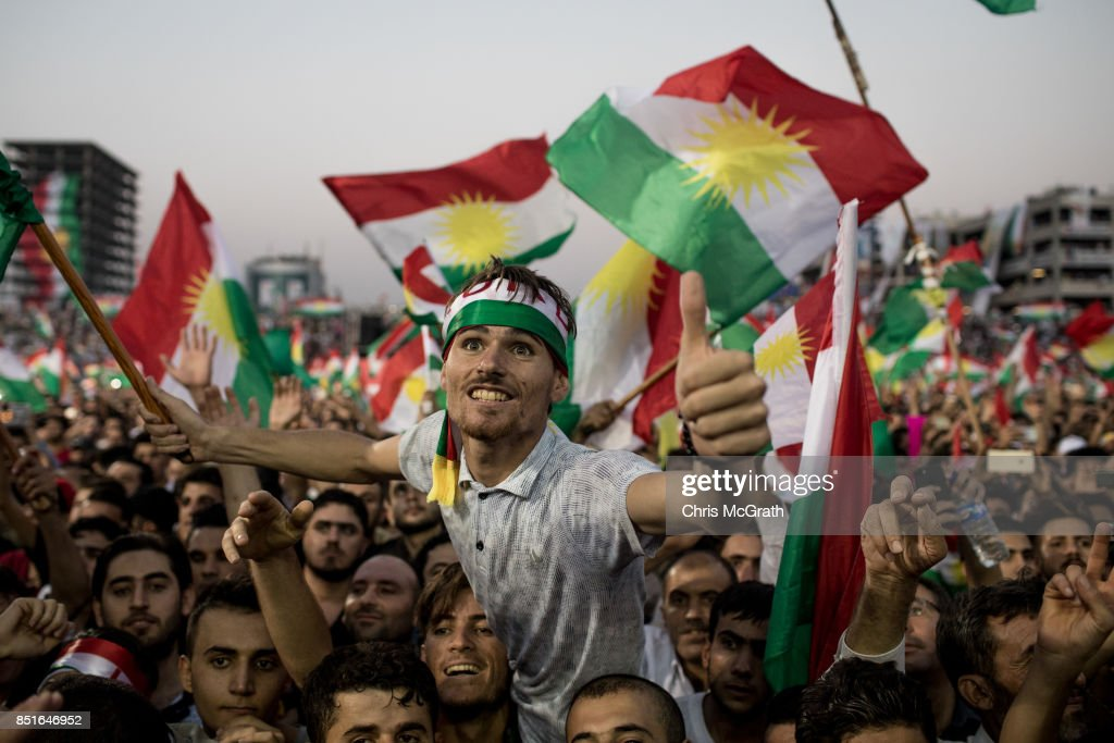 Kurds Rally For Independence