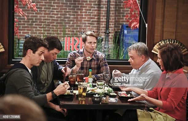 'Supporting Jackie' Pictured Joey McIntyre as Gerald Jimmy Dunn as Sean Tyler Ritter as Ronny Jack McGee as Arthur and Laurie Metcalf as Marjorie...