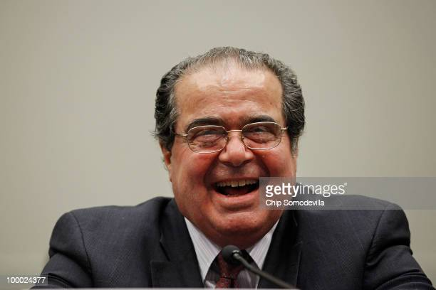 S Supreme Court Associate Justice Antonin Scalia testifies before the House Judiciary Committee's Commercial and Administrative Law Subcommittee on...