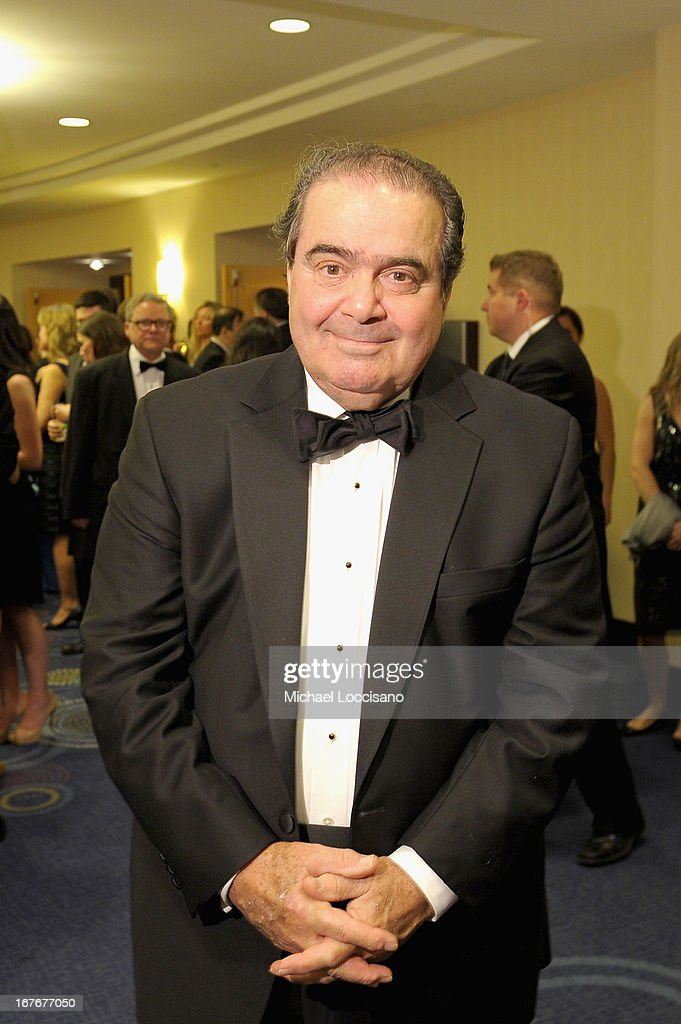 U.S. Supreme Court Justice Antonin Scalia attends the TIME/CNN/PEOPLE/FORTUNE Pre-Dinner Cocktail Reception at Washington Hilton on April 27, 2013 in Washington, DC.