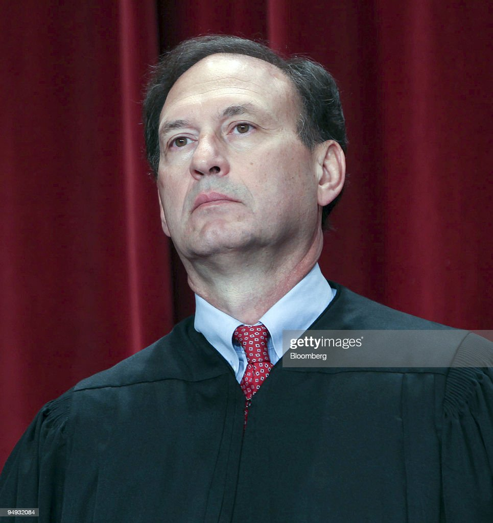 george magistrate stock photos and pictures getty images s supreme court justice samuel alito poses during the court s official photo session in washington dc