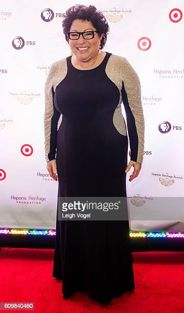 Supreme Court Justice Sonia Sotomayor arrives at the 29th Hispanic Heritage Awards where she will be honored with a Leadership Award at the Warner...