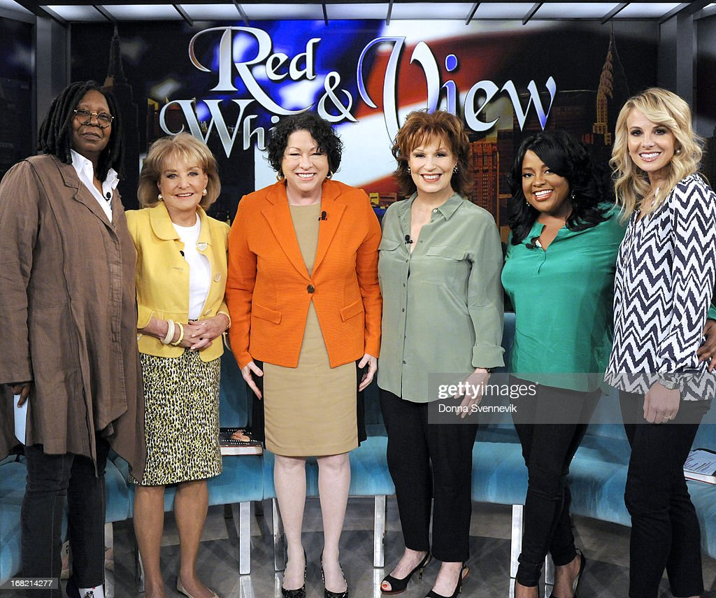 THE VIEW - Supreme Court Justice Sonia Sotomayor (Author, My Beloved World); comedian Jim Gaffigan (author, Dad is Fat) and Mary McCartney (author, Food: Vegetarian Home Cooking) appeared today, May 6, 2013 on ABC's 'The View.' 'The View' airs Monday-Friday (11:00 am-12:00 pm, ET) on the ABC Television Network. HASSELBECK