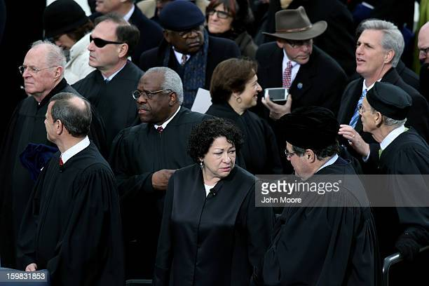 S Supreme Court Justices Anthony Kennedy Supreme Court Chief Justice John Roberts Clarence Thomas Sonia Sotomayor Elena Kegan Samuel A Alito and...