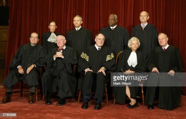 Supreme Court Justices Associate Justice Antonin Scalia Associate Justice John Paul Stevens Chief Justice William H Rehnquist Associate Justice...