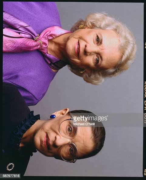 Sandra Day O'Connor and Ruth Bader Ginsberg