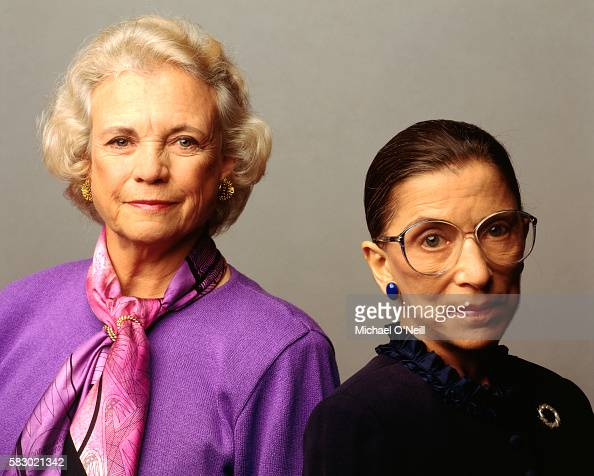 Sandra Day O'Connor and Ruth Bader Ginsburg