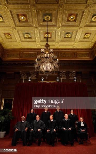S Supreme Court members Associate Justice Clarence Thomas Associate Justice Antonin Scalia Chief Justice John Roberts Associate Justice Anthony...