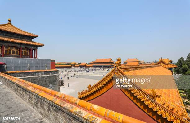 Supreme Harmony Hall and square in Forbidden City.