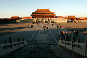 Supreme Harmony Hall in Forbidden City.