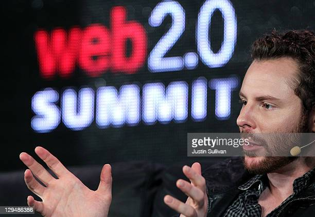 Supyo cofounder Sean Parker speaks during the 2011 Web 20 Summit on October 17 2011 in San Francisco California The 2011 Web 20 Summit features...