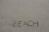 marée basse cœur sable plage beach