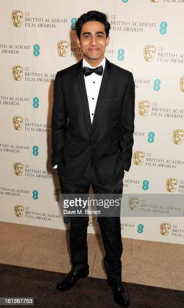 Suraj Sharma arrives at the EE British Academy Film Awards at the Royal Opera House on February 10 2013 in London England