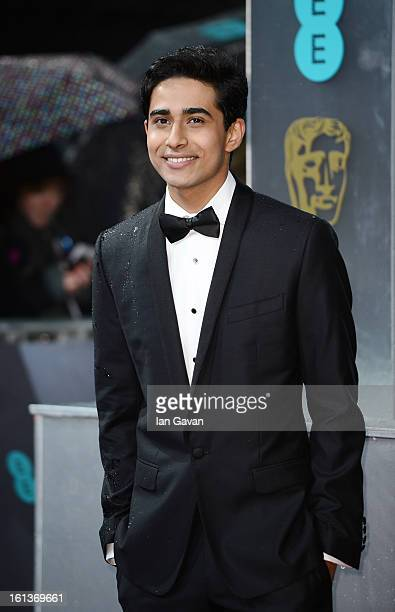 Suraj Sharma attends the EE British Academy Film Awards at The Royal Opera House on February 10 2013 in London England