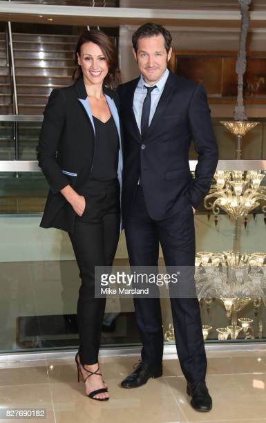 Suranne Jones and Bertie Carvel attend the launch of BBC Two drama 'Doctor Foster' at The Mayfair Hotel on August 8 2017 in London England