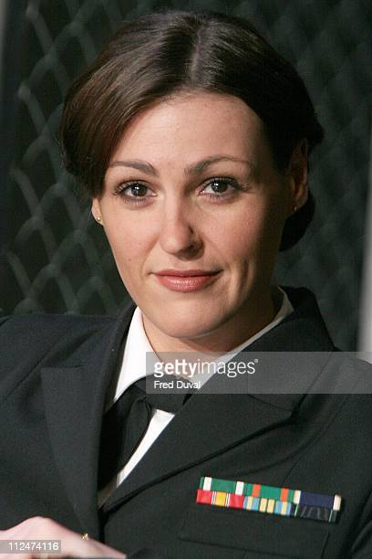 Suranne Jones as Lt Cdr Joanne Galloway during 'A Few Good Men' Press Photocall at Theatre Royal in London United Kingdom