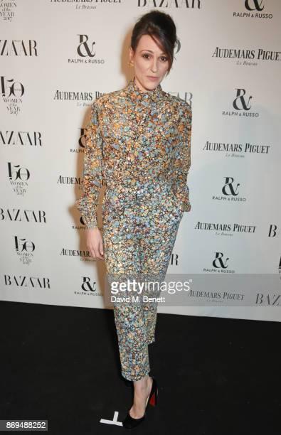 Suranne Jones attends Harper's Bazaar Women of the Year Awards in association with Ralph Russo Audemars Piguet and MercedesBenz at Claridge's Hotel...