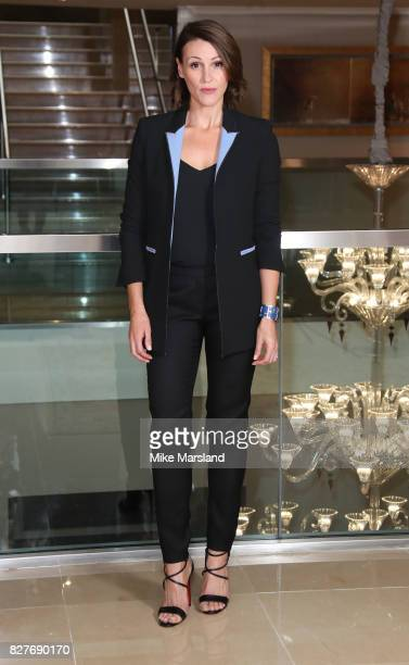 Suranne Jones attends the launch of BBC Two drama 'Doctor Foster' at The Mayfair Hotel on August 8 2017 in London England