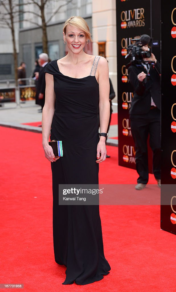 Suranne Jones attends The Laurence Olivier Awards at The Royal Opera House on April 28, 2013 in London, England.