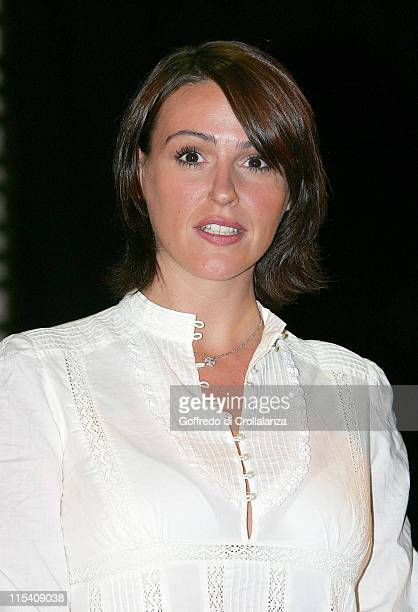 Suranne Jones during 'A Few Good Men' London Photocall at Theatre Royal in London Great Britain