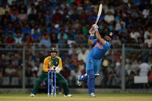 India v South Africa - ICC Twenty20 World Cup Warm Up : News Photo