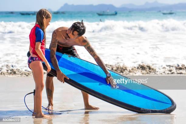 Lección de Surf