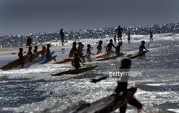 Surf Lifesaving Carnival on the surf coast Nippers compete in their annual championships at Anglesea ahead of the State finals in March The event saw...