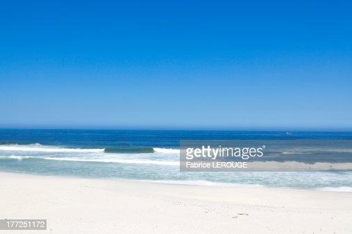 Surf on the beach : Stock Photo