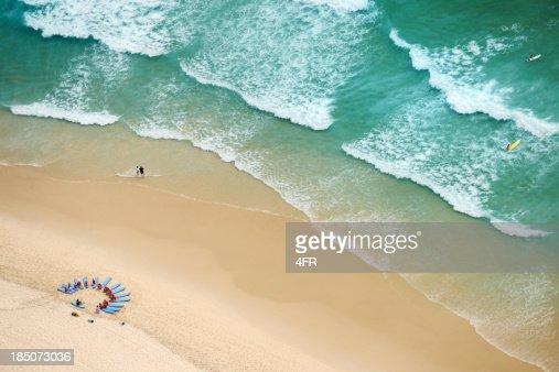 Surf School at Surfers Paradise, Gold Coast, Australia (XXXL)