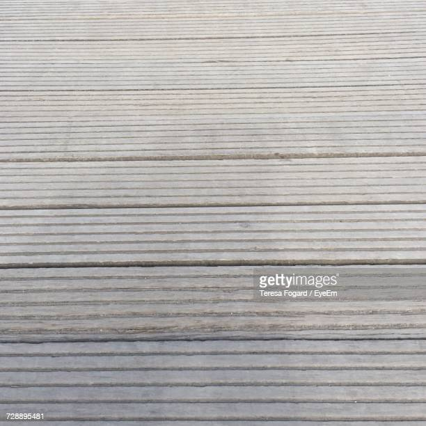 Surface Level Of Wooden Planks