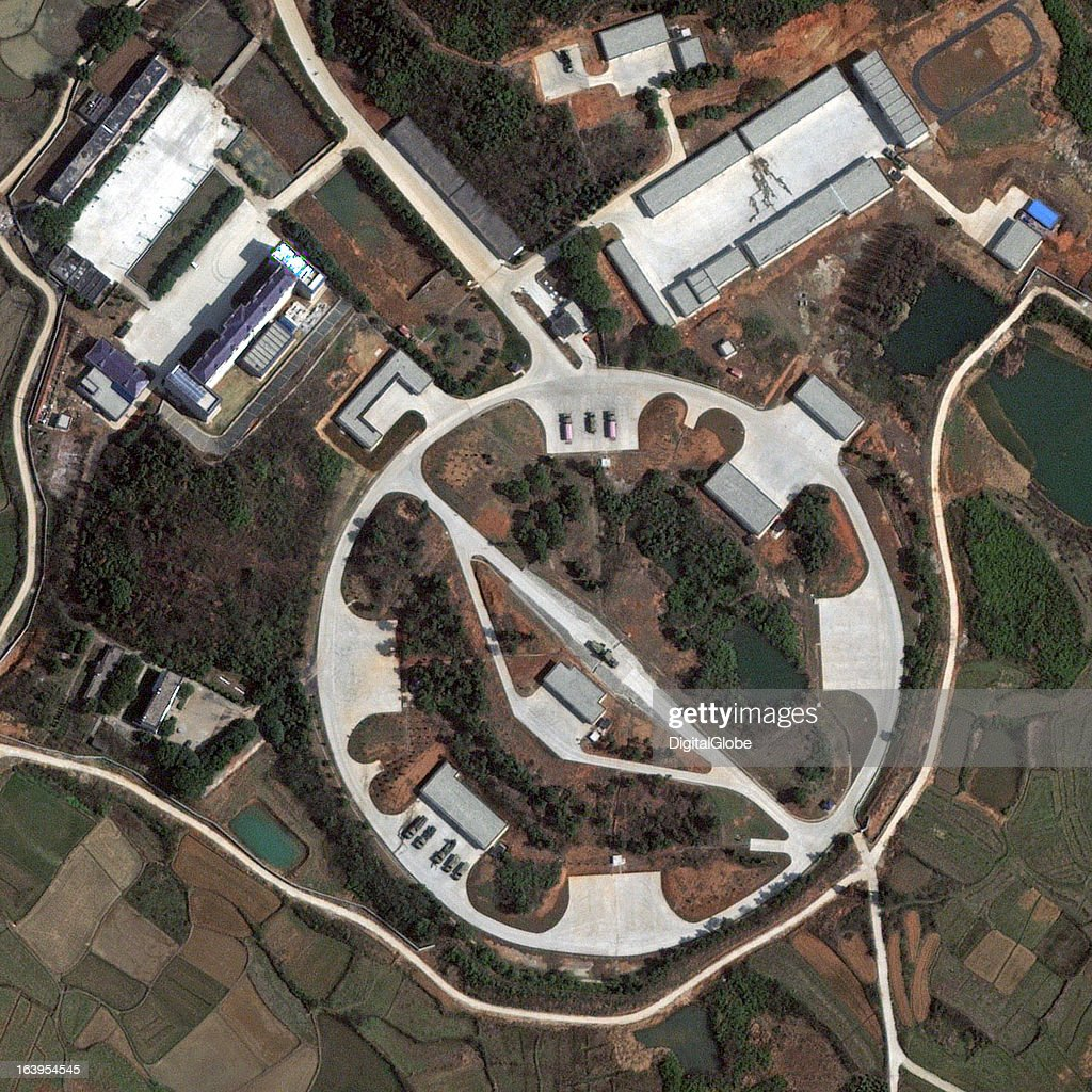 Surface-to-air missile (SAM) sites are employed by most militaries around the world to identify and neutralize incoming threat aircraft or missiles. Given their distinct configuration, the facilities and equipment associated with SAM systems are easily identified as seen on this satellite image of the HQ-9 (HongQi-9) SAM system in Jiangxia, China.